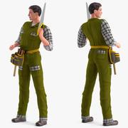 木匠索要莫多 3d model