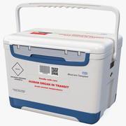 Human Organ Transplant Cooler 3d model