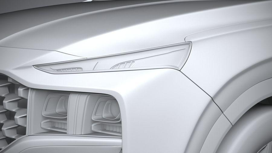 Hyundai SantaFe 2021 royalty-free 3d model - Preview no. 24