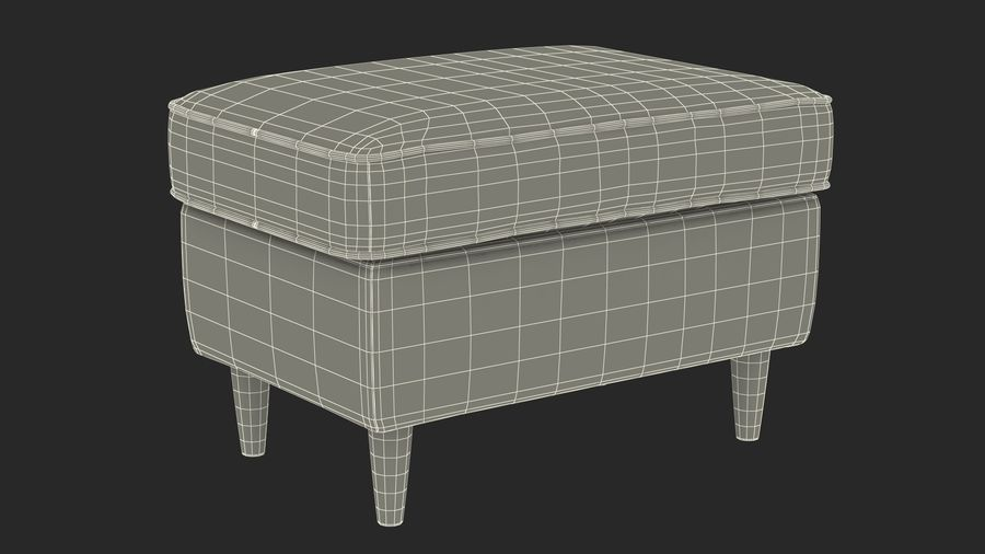 Grey Puff royalty-free 3d model - Preview no. 22