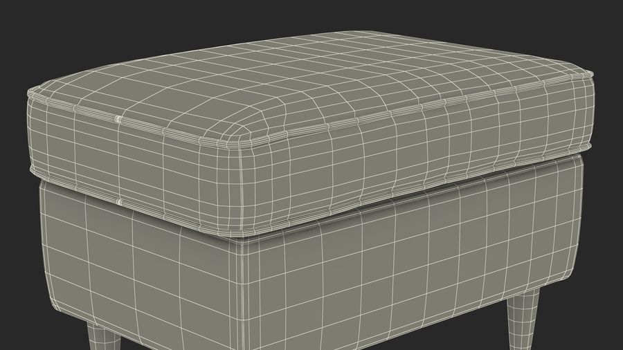 Grey Puff royalty-free 3d model - Preview no. 23