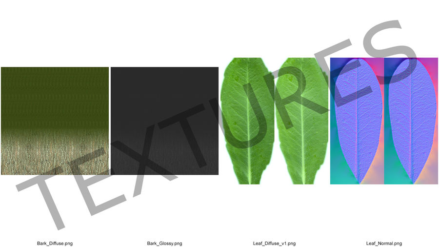 Decorative Giraffe Topiary royalty-free 3d model - Preview no. 12