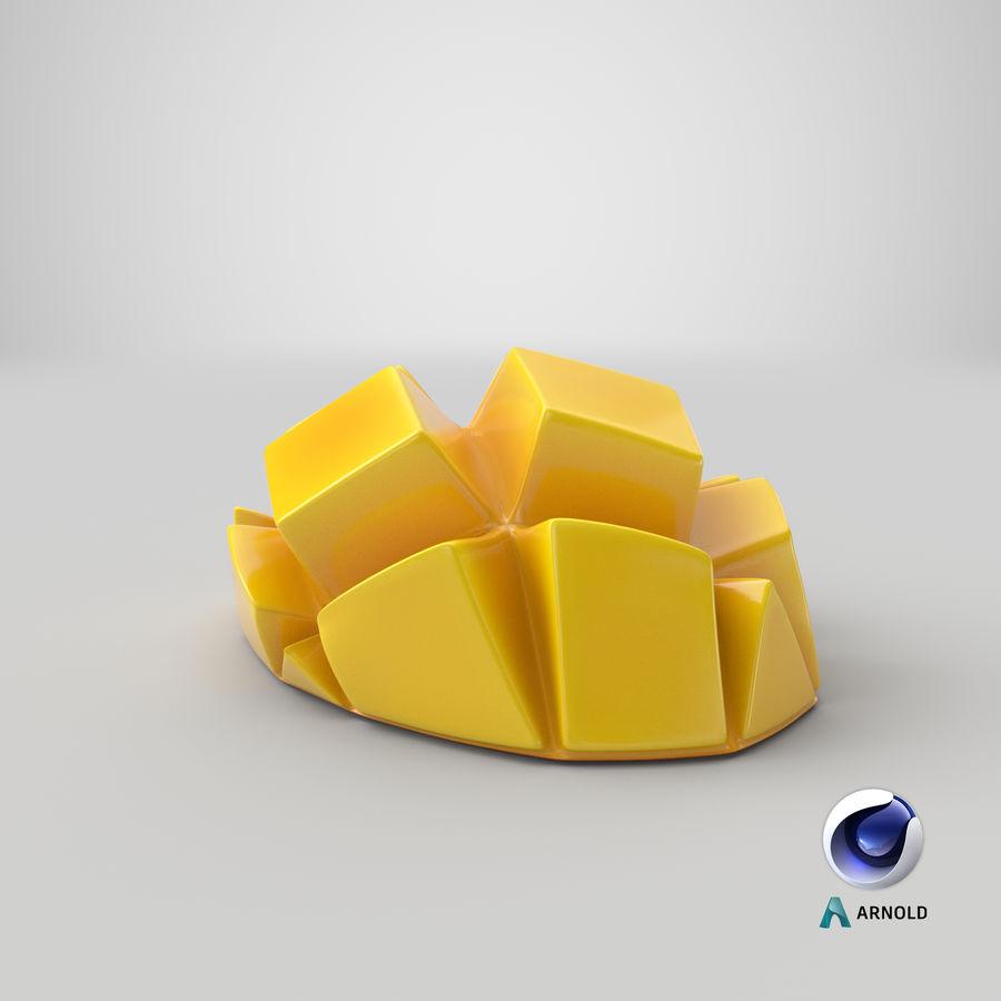 Fresh Mango Slice royalty-free 3d model - Preview no. 25