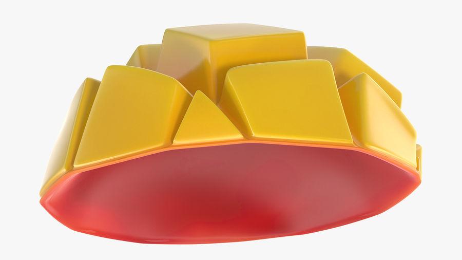 Fresh Mango Slice royalty-free 3d model - Preview no. 6