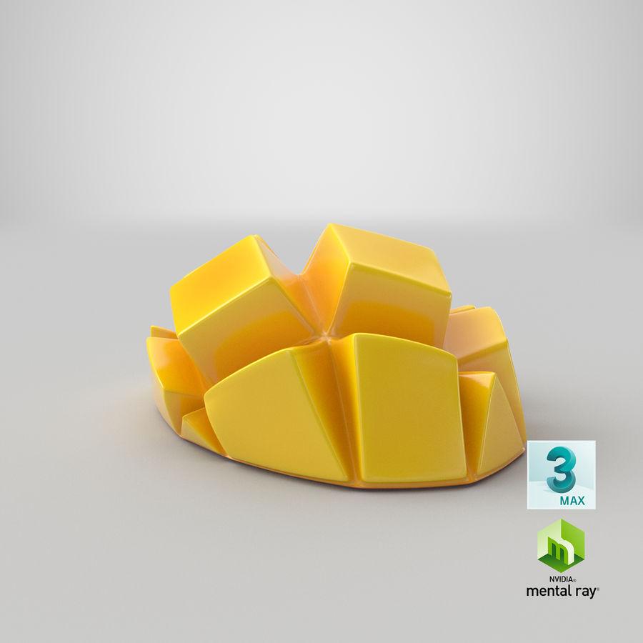 Fresh Mango Slice royalty-free 3d model - Preview no. 29