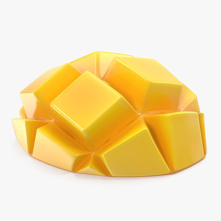 Fresh Mango Slice royalty-free 3d model - Preview no. 1