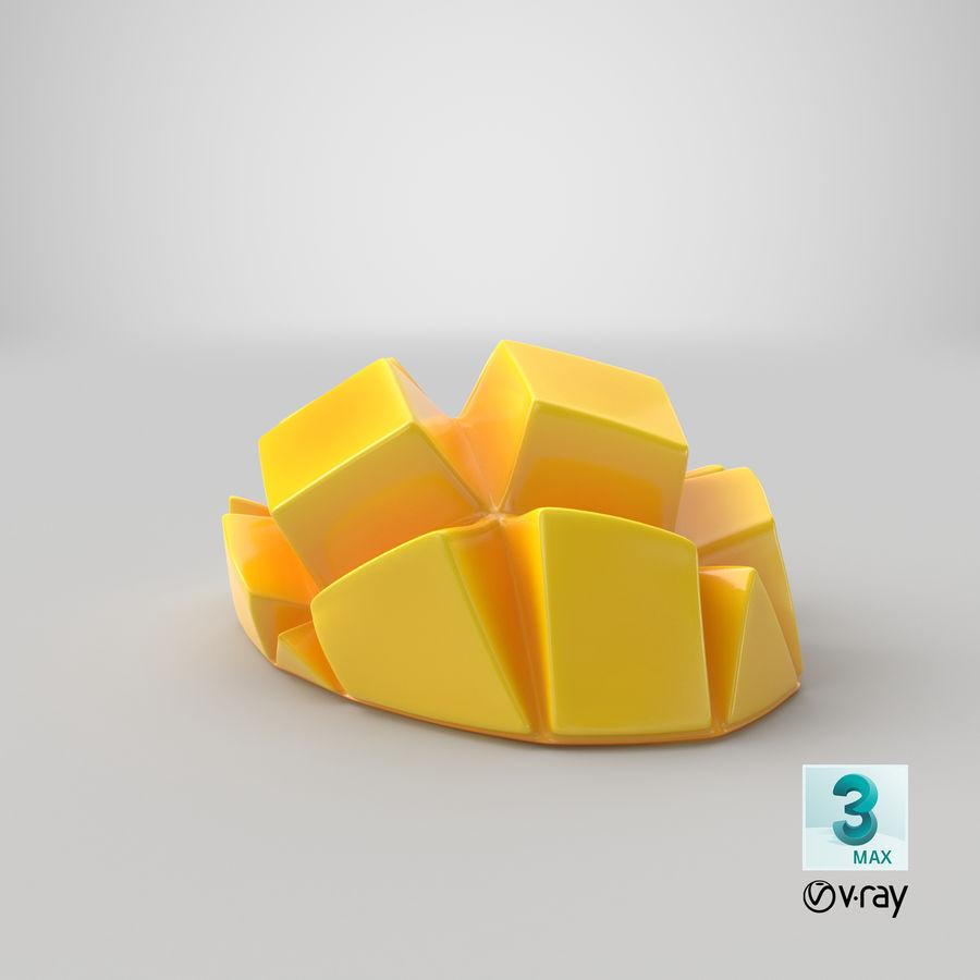 Fresh Mango Slice royalty-free 3d model - Preview no. 30