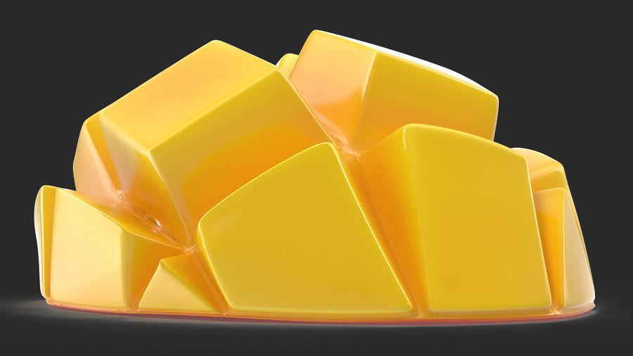 Fresh Mango Slice royalty-free 3d model - Preview no. 7