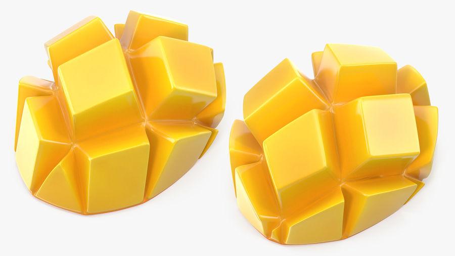 Fresh Mango Slice royalty-free 3d model - Preview no. 2