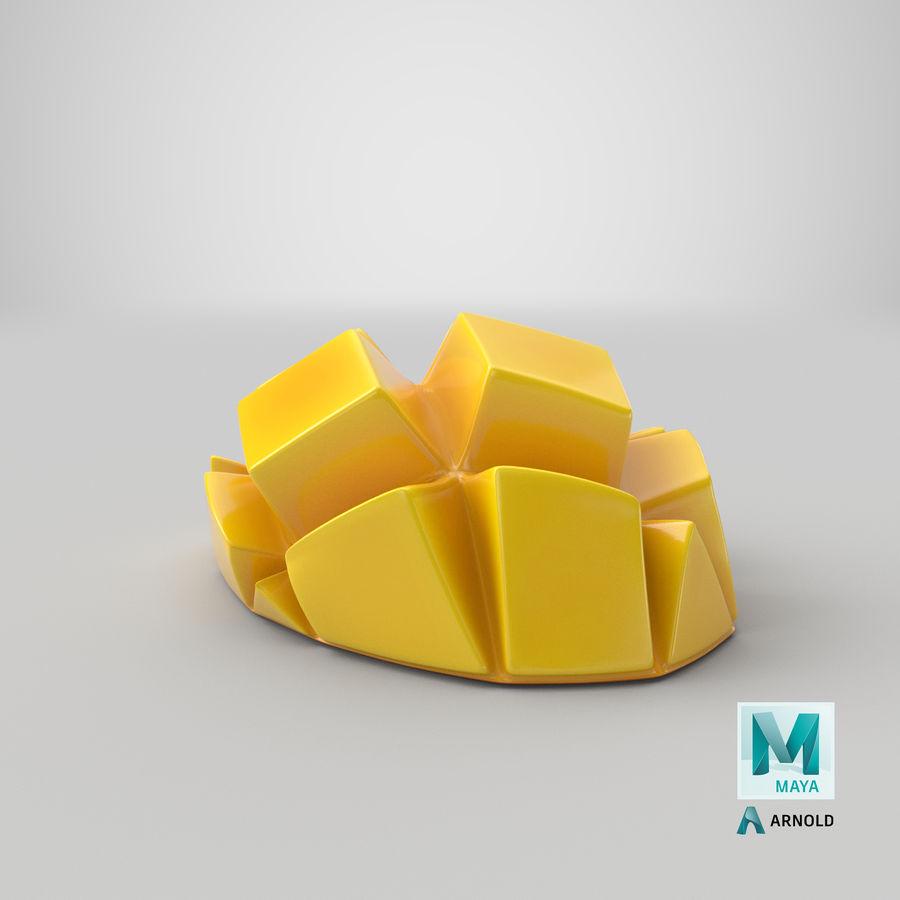 Fresh Mango Slice royalty-free 3d model - Preview no. 31