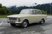 AZLK Moskvitch-412 IE 1972 3d model