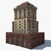 Stalinistische architectuur 3d model