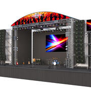Band Live Stage 3d model