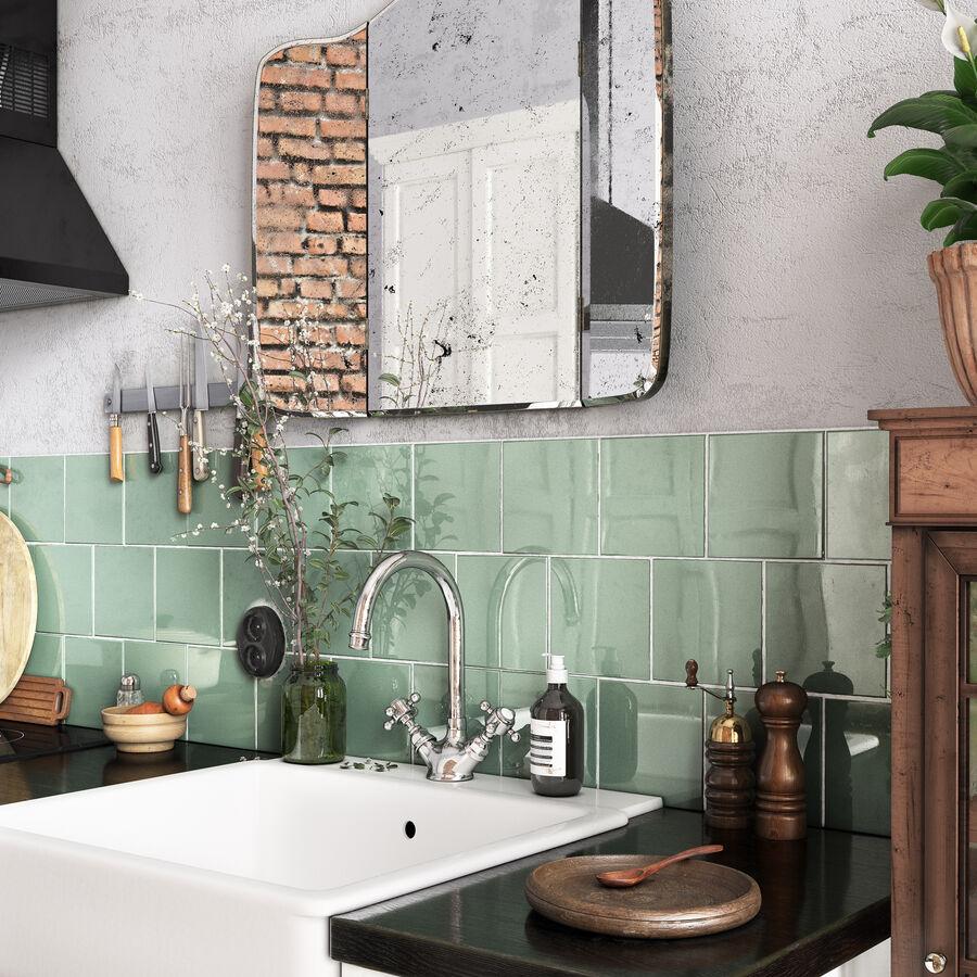 Une Cuisine (Kitchen) royalty-free 3d model - Preview no. 6