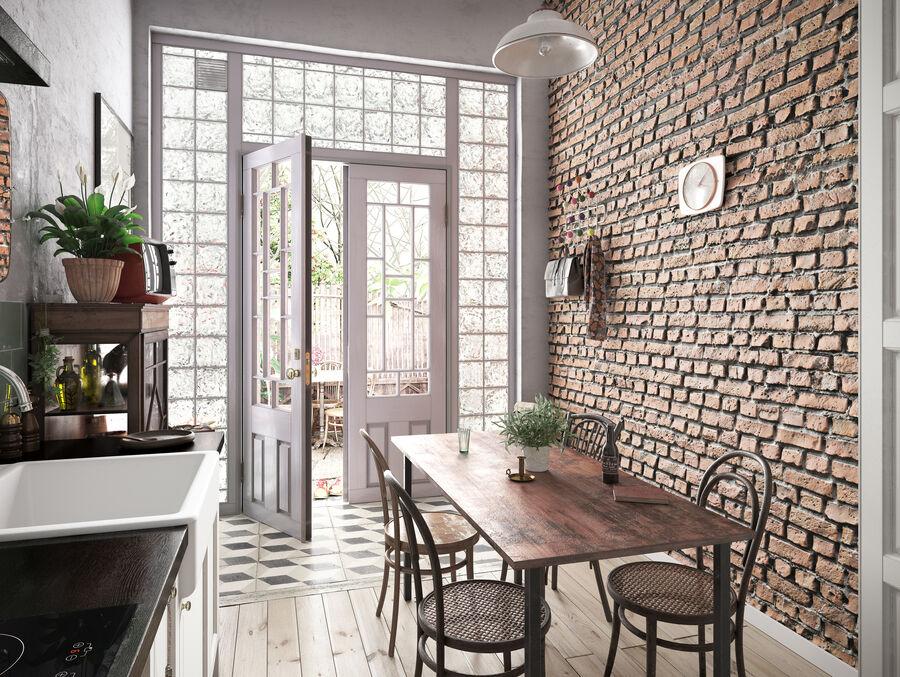 Une Cuisine (Kitchen) royalty-free 3d model - Preview no. 3