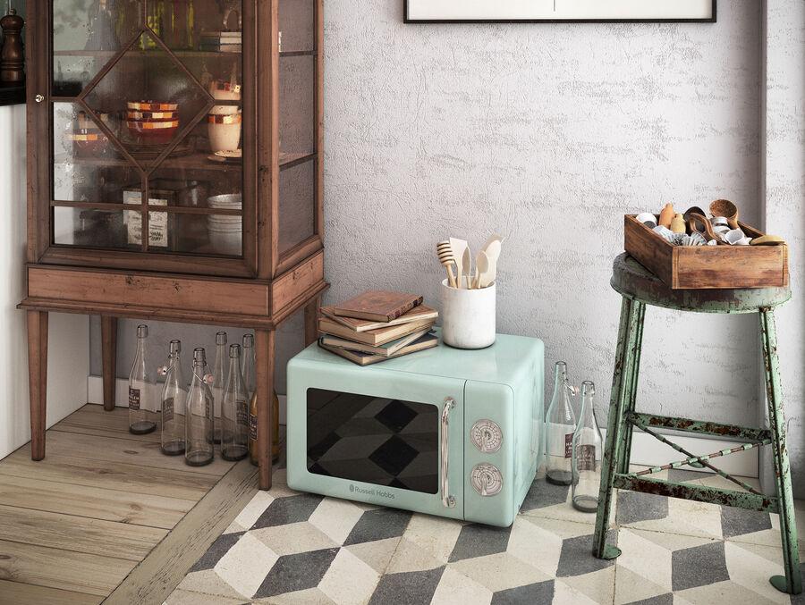 Une Cuisine (Kitchen) royalty-free 3d model - Preview no. 11