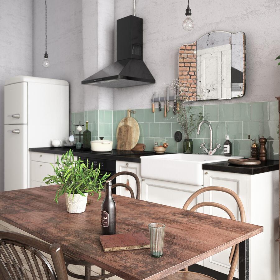 Une Cuisine (Kitchen) royalty-free 3d model - Preview no. 8