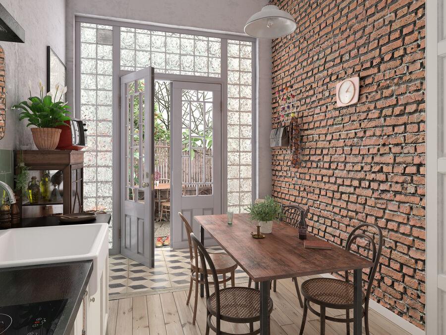 Une Cuisine (Kitchen) royalty-free 3d model - Preview no. 4