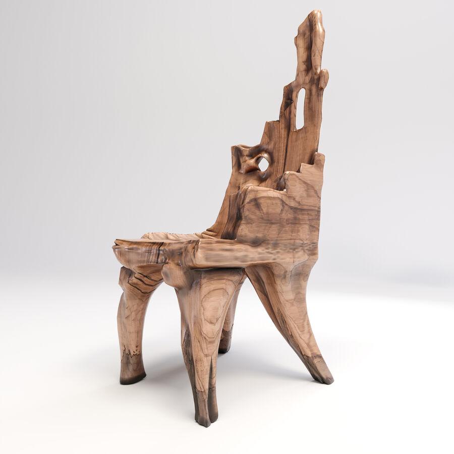 Drewniany Stół do Jadalni Bali royalty-free 3d model - Preview no. 10
