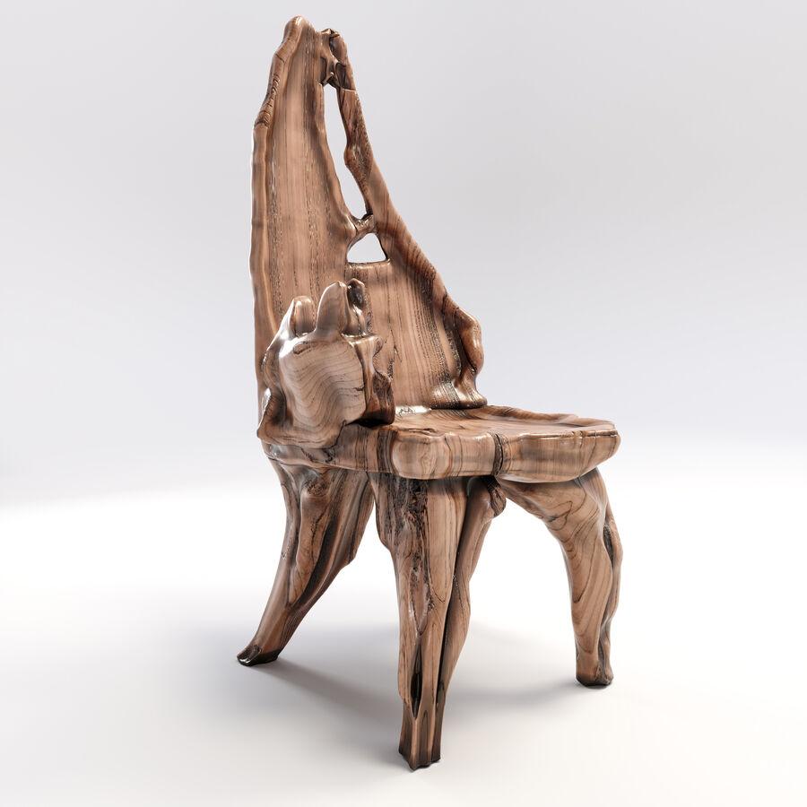 Drewniany Stół do Jadalni Bali royalty-free 3d model - Preview no. 15