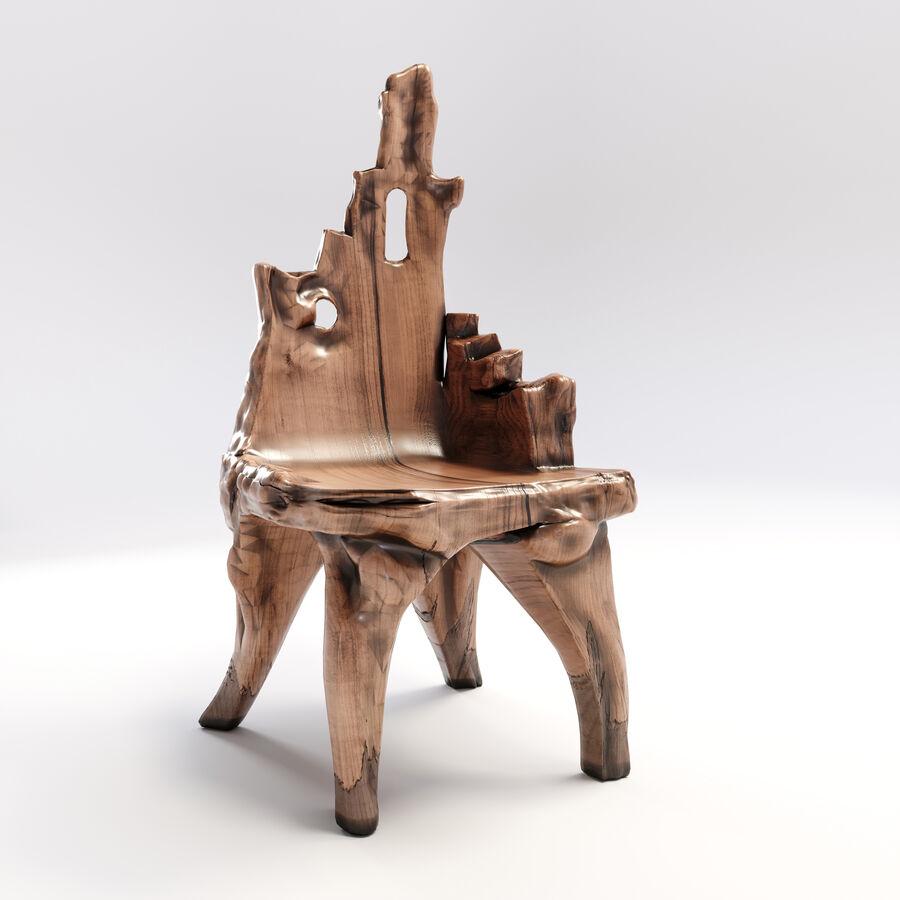 Drewniany Stół do Jadalni Bali royalty-free 3d model - Preview no. 14