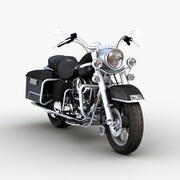 Classic Motorcycle 3d model