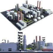 Mega-Raffinerie 3d model