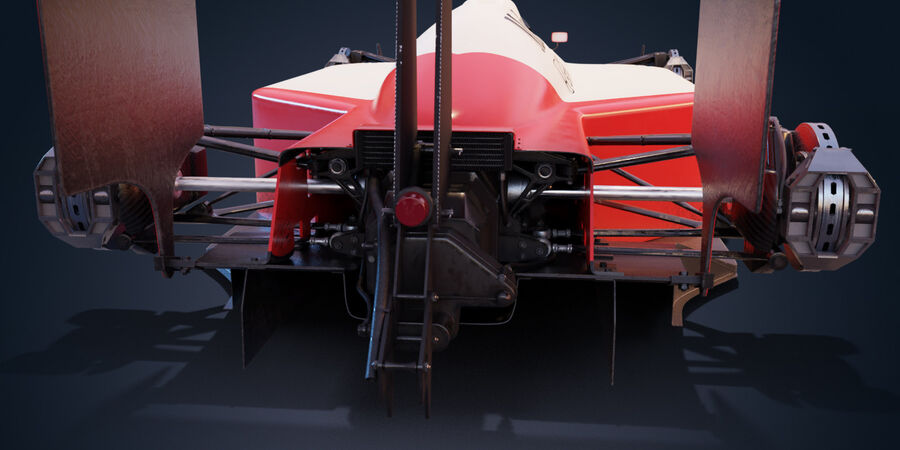 McLaren Mp 4/4 royalty-free 3d model - Preview no. 9