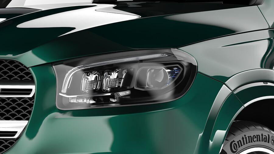Mercedes Benz GLS Class 2020 royalty-free 3d model - Preview no. 8