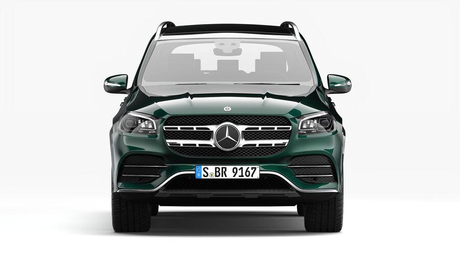 Mercedes Benz GLS Class 2020 royalty-free 3d model - Preview no. 6