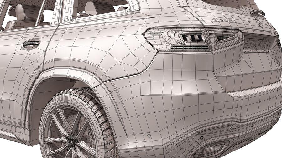Mercedes Benz GLS Class 2020 royalty-free 3d model - Preview no. 19