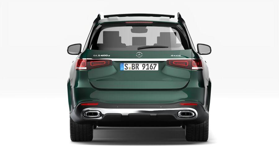 Mercedes Benz GLS Class 2020 royalty-free 3d model - Preview no. 7