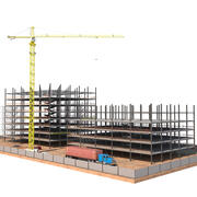 En construcción modelo 3d