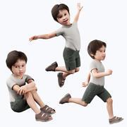 Enfant garçon 3d model