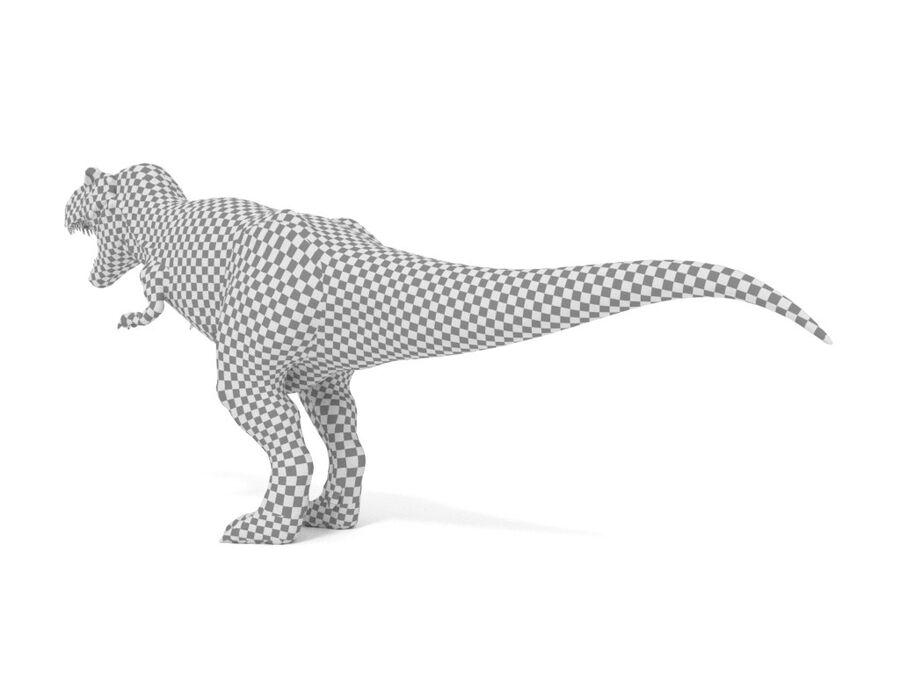 Tyrannosaurus Rex Rigged royalty-free 3d model - Preview no. 26