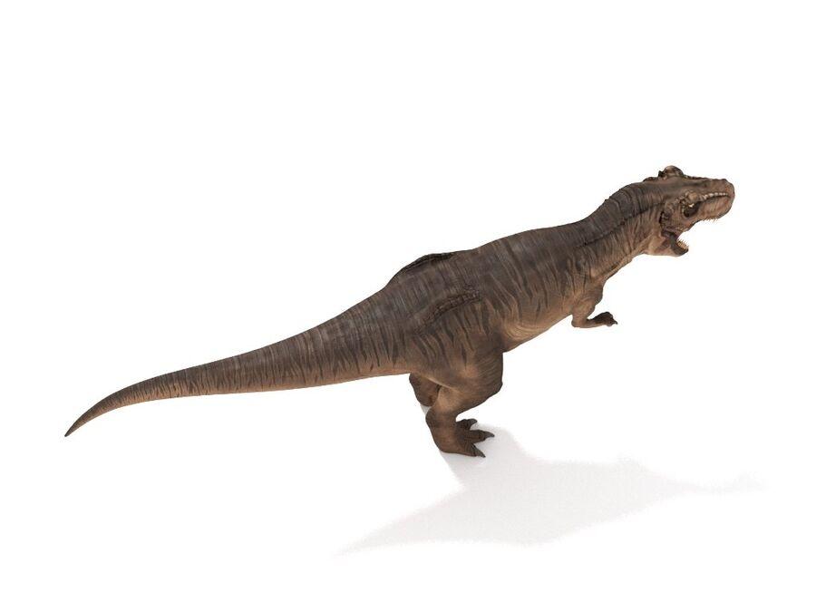 Tyrannosaurus Rex Rigged royalty-free 3d model - Preview no. 10