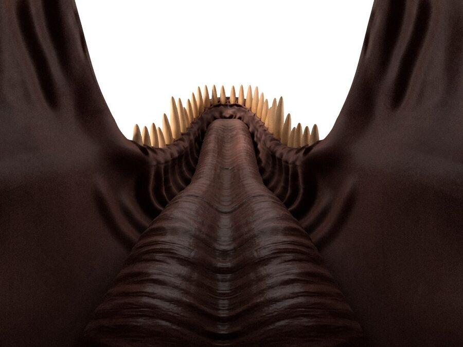 Tyrannosaurus Rex Rigged royalty-free 3d model - Preview no. 18