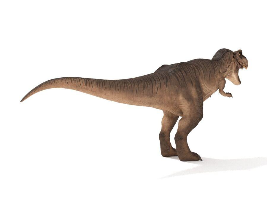 Tyrannosaurus Rex Rigged royalty-free 3d model - Preview no. 6