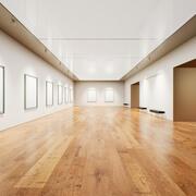 Kunstgalerie 007 UE4 3d model