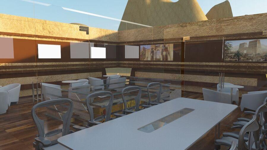 templo egipcio royalty-free modelo 3d - Preview no. 11
