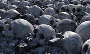Apocalypse rubble mass grave 3d model