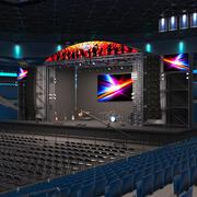 Stage Arena 3d model
