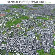 Miasto Bangalore Bengaluru w Indiach 3d model