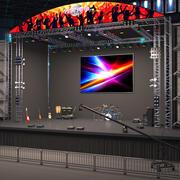 Stage Arena 2 3d model