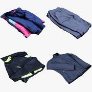 Coleção de roupas 28 3d model