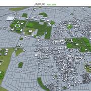 Jaipur City na Índia 3d model