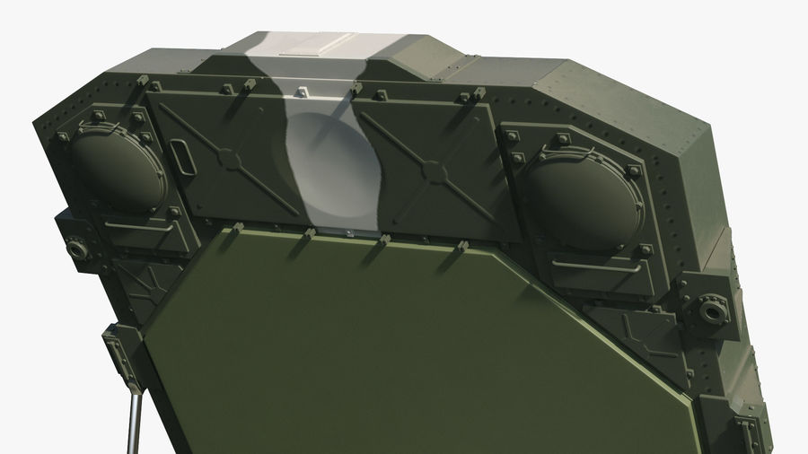 Camouflage S300 Flap Lid B Missile Guidance Radar Rigged royalty-free 3d model - Preview no. 24