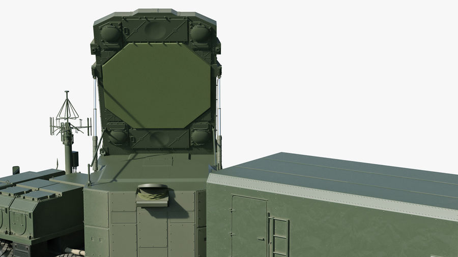 Flap Lid B S300 Missile Guidance Radar Rigged royalty-free 3d model - Preview no. 19