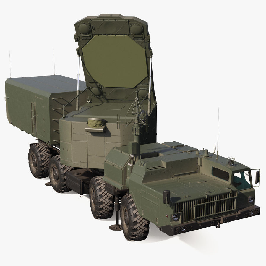 Flap Lid B S300 Missile Guidance Radar Rigged royalty-free 3d model - Preview no. 1
