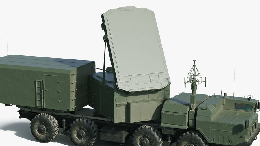 Flap Lid B S300 Missile Guidance Radar Rigged royalty-free 3d model - Preview no. 20